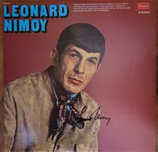 Leonard Nimoy Signed LP