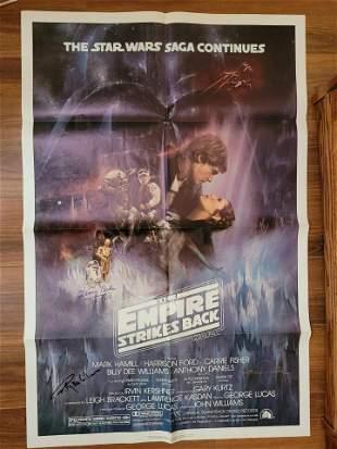 The Empire Strikes Back Original Poster