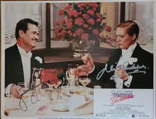 Julie Andrews James Garner Signed Victor/Victoria