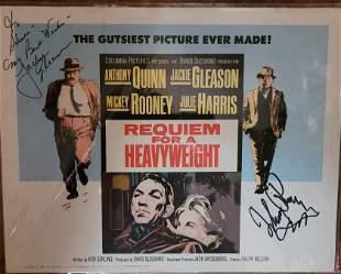 Requiem for a Heavyweight Jackie Gleason Mickey Rooney