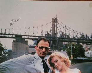 Arthur Miller Signed Photograph with Marilyn Monroe