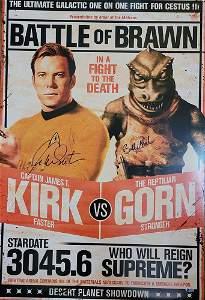 William Shatner Bobby Clark Star Trek Poster