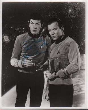 Leonard Nimoy Star Trek Signed 8x10 Photo