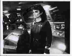 Robin Curtis Star Trek Signed 8x10 Photo