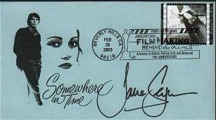 Jane Seymour Somewhere in Time FDC