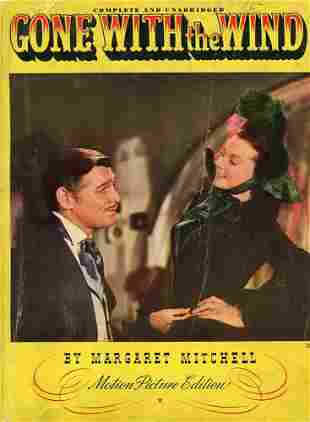 Gone with the Wind Motion Picture Edition Book