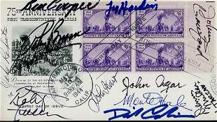 Western Stars Signed FDC