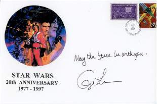 George Lucas Signed Star Wars FDC