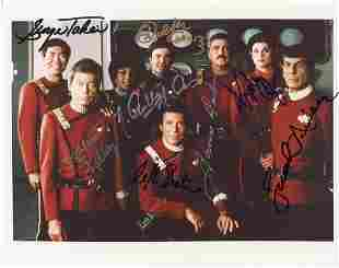 Star Trek The Motion Picture Cast Signed Photo