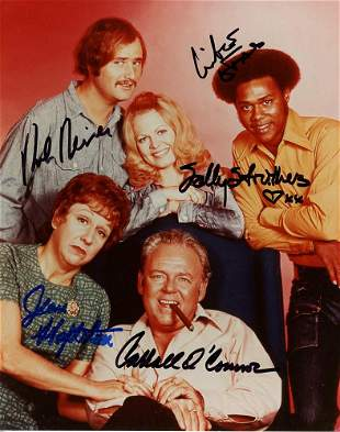 All in the Family Cast Signed Photo