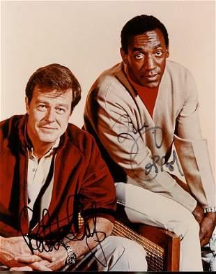 Bill Cosby Robert Culp Signed Photo