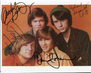 The Monkees Signed Photo