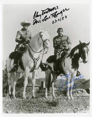 The Lone Ranger Signed Photo