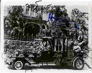 The Munsters Cast Signed Photo
