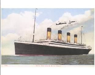 Mellvina Dean Signature Titanic Print
