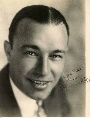 Robert Armstrong Signed Photo