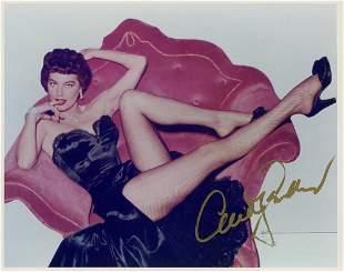 Ava Gardner Signed Photo