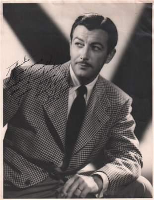 Robert Taylor Signed Photo