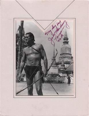 Jack Mahoney Signed Photo