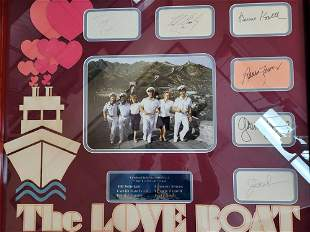 The Love Boat Cast Signatures