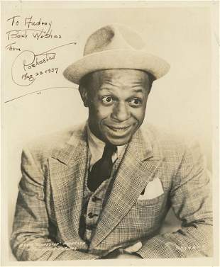 Rochester signed photograph