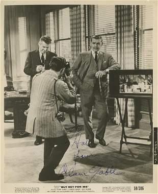 Clark Gable signed photograph