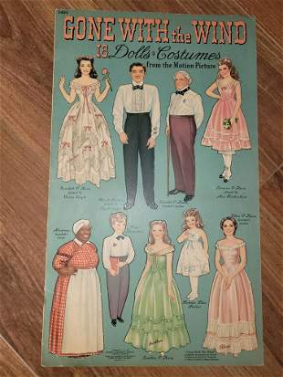 Gone with the Wind paperdoll book Extremely rare
