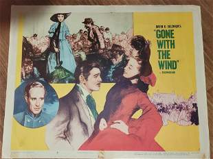 Gone with the Wind original lobby card