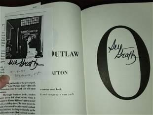 Sue Grafton signed book