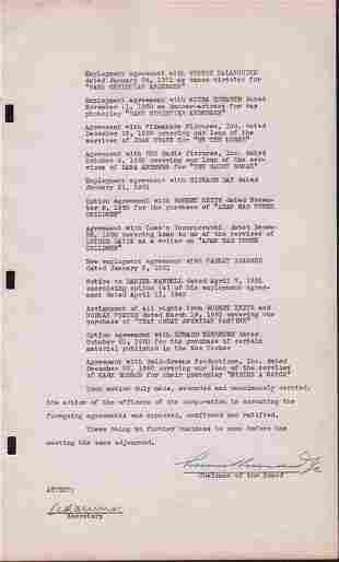 Samuel Goldwyn document