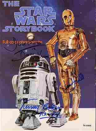 Star Wars Storybook signed