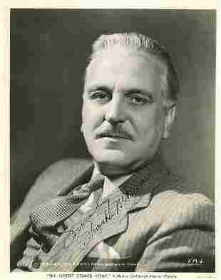 Frank Morgan signed photograph