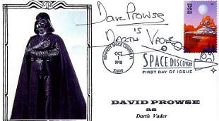 Dave Prowse Star Wars signed FDC