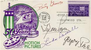 Movie Legends signed FDC