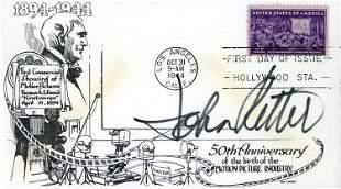 John Ritter signed FDC