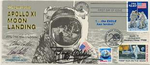 Buzz Aldrin signed FDC