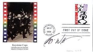 Robin Williams signed FDC