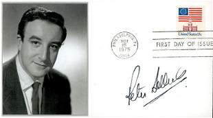 Peter Sellers signed FDC
