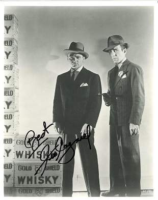 Jimmy Cagnery signed photograph