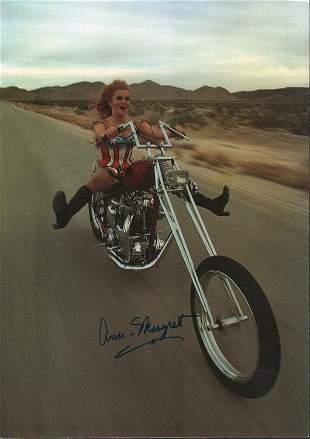 Ann Margret signed photograph