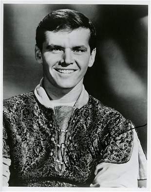 Jack Nicholson signed photograph