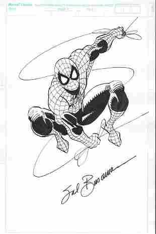 Sal Buscema Spiderman original art