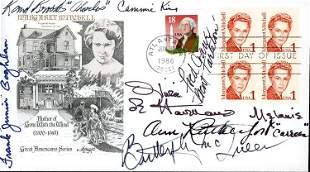 Gone with the Wind signed cast FDC