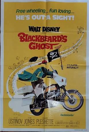 Blackbeards Ghost movie poster signed