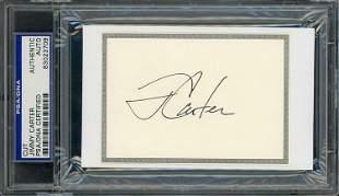 Jimmy Carter signature