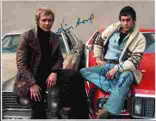 Starsky and Hutch signed photograph