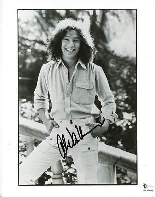 Alex Van Halen signed photograph