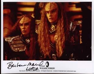 Barbara Maul signed photograph