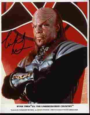 Michael Dorn signed photograph