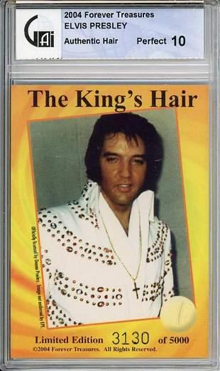 Elvis Presley strnd of hair